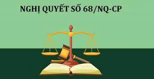 Thực hiện NQ 68