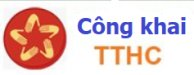 Công khai TTHC